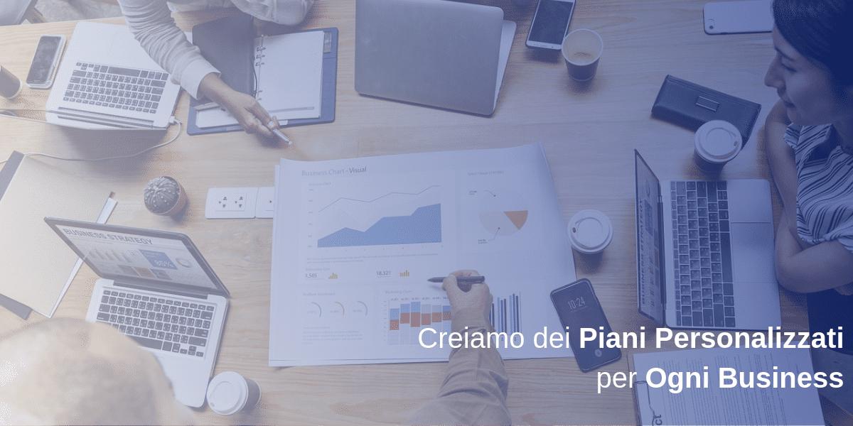 piani di web e funnel marketing su misura personalizzati